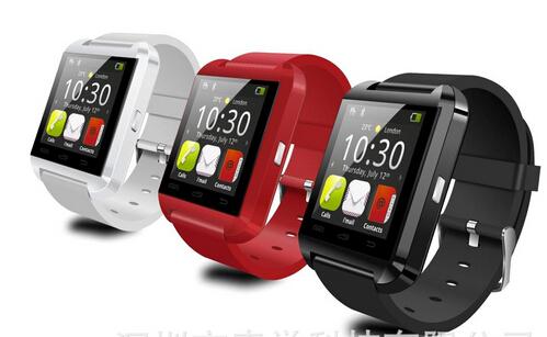 10pcs/lots s manufacturer supply U8 watch bluetooth intelligent voice camera phones Bluetooth sports pedometer(China (Mainland))
