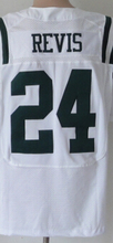 HOT Cheap men's jersey,Elite 7 Smith 22 Forte 12 Namath 24 Revis 15 Marshall 87 Decker 96 Wilkerson Jerseys,Size M-XXXL(China (Mainland))