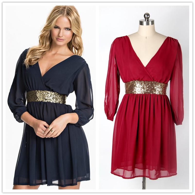 Платья с вырезом в образным для полных