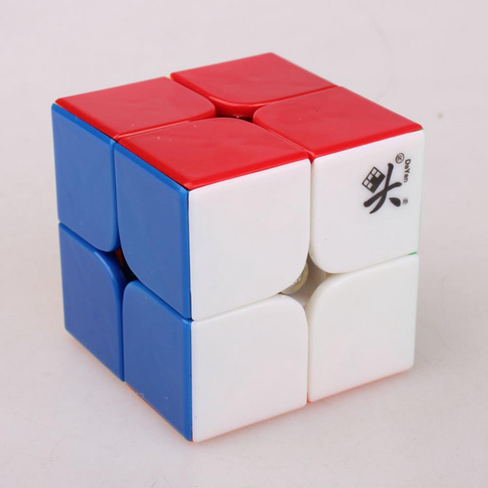 Brand New DaYan 50mm 2x2x2 Stickerless Magic Cube Speed Puzzle Cubes Educational Toys for kid Children