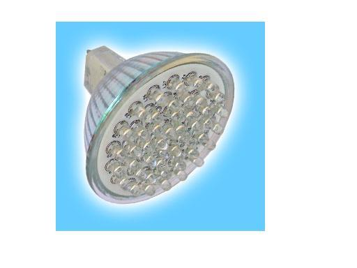 GU10/MR16/E27 LED Spotlight,48pcs 3528 SMD LED,3W;145~185Lm;P/N:ET-LL-SC-48(please advise the color and the base)