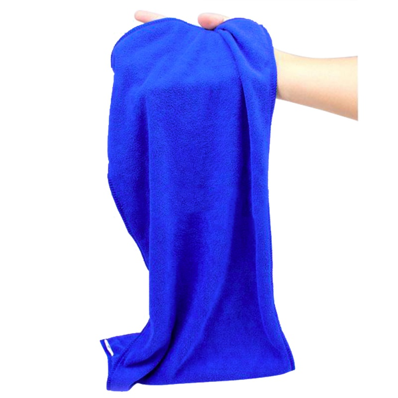 New Microfiber Blue Towel Car Wipe Cloth Cleaning Clothes Wash Cleaner 70*30cm(China (Mainland))