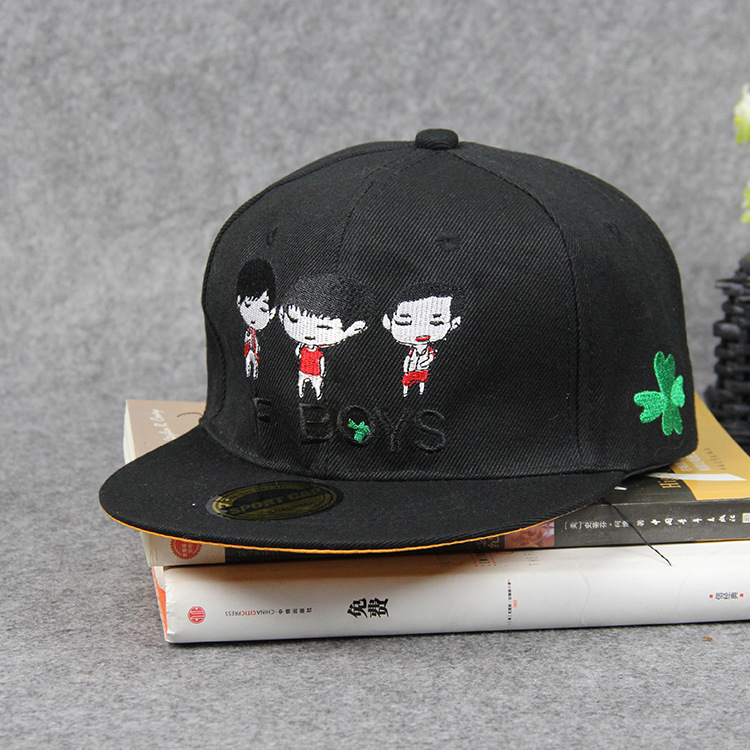 Male Ma'am Tide Cap TFboys Fund Official Respond To TF-Boys Level Along The Street Hip Hop Baseball Hats(China (Mainland))