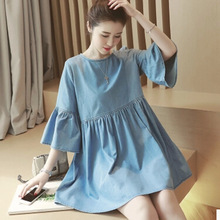2016 new casual dress for pregnant clothes summer maternity wear clothes for pregnancy breast feeding clothing vestidos feminina(China (Mainland))