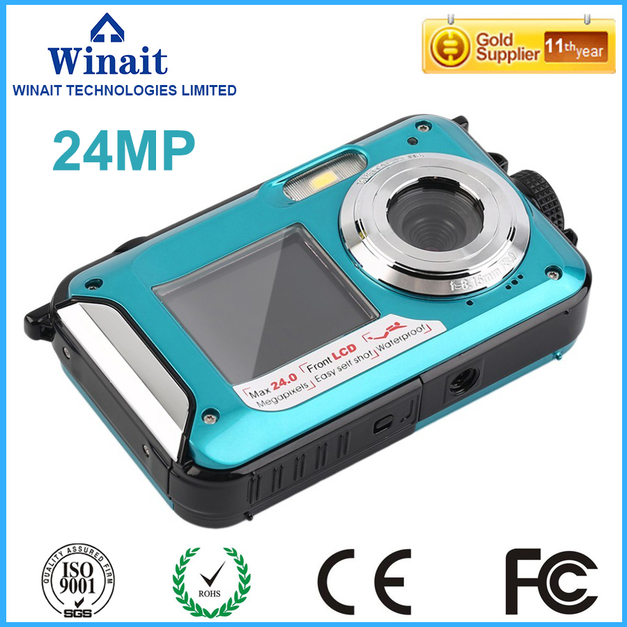 Free Shipping Most popular hot sell PC camera Auto/Daylight/Cloudy/Incandescent/Fluorescent waterproof digital camera(China (Mainland))