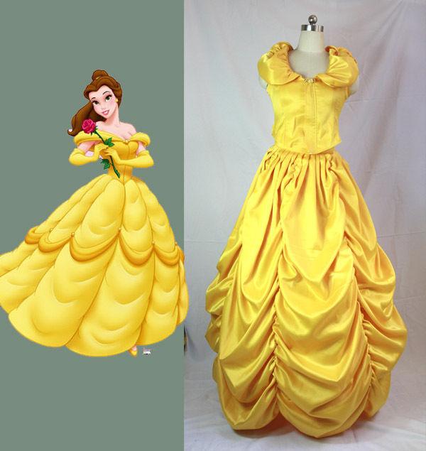 Здесь можно купить  Beauty and Beast Belle cosplay costume customized Halloween Outfit  Одежда и аксессуары