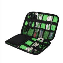 Mode Organizer System Kit Fall Aufbewahrungstasche Digitalen Gadget Geräte Usb-kabel Kopfhörer Pen Reise Einsatz Tragbare YL872226(China (Mainland))