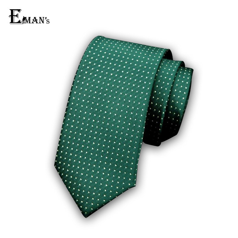 Mens Ties 2015 New Brand Man Fashion Dot Striped Neckties Classic Business Casual Green Tie For Men T02(China (Mainland))