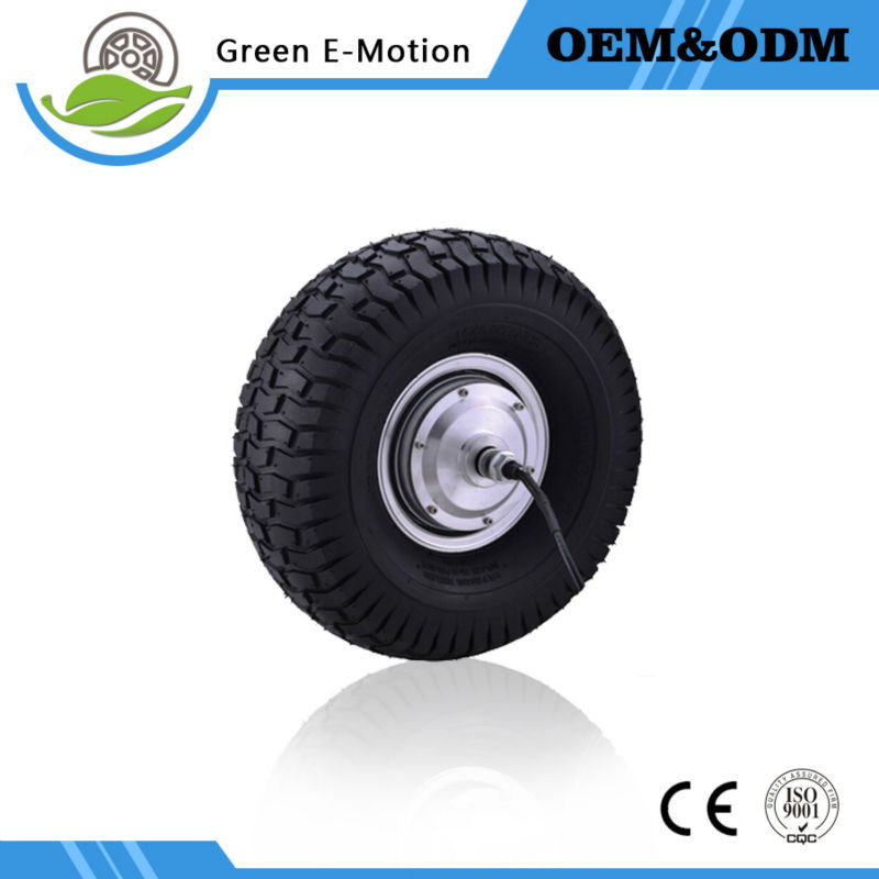high speed 15inch electric wheel motor bicycle electric motor 24v 350w hub motor karting mobile platform motor(China (Mainland))