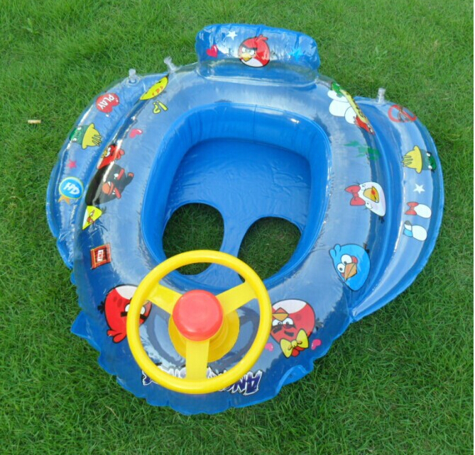 Free shipping HELLOKITTY children baby swimming ring, inflatable infant floating ring(China (Mainland))