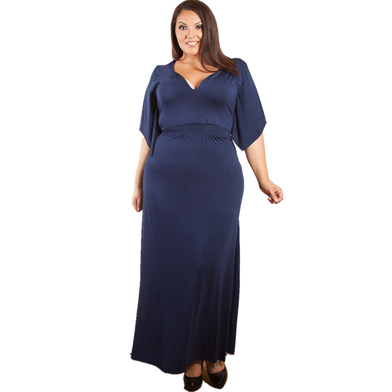 Detail Feedback Questions about 2019 Summer Women Plus Size Maxi ... 4ad8bd6fca44