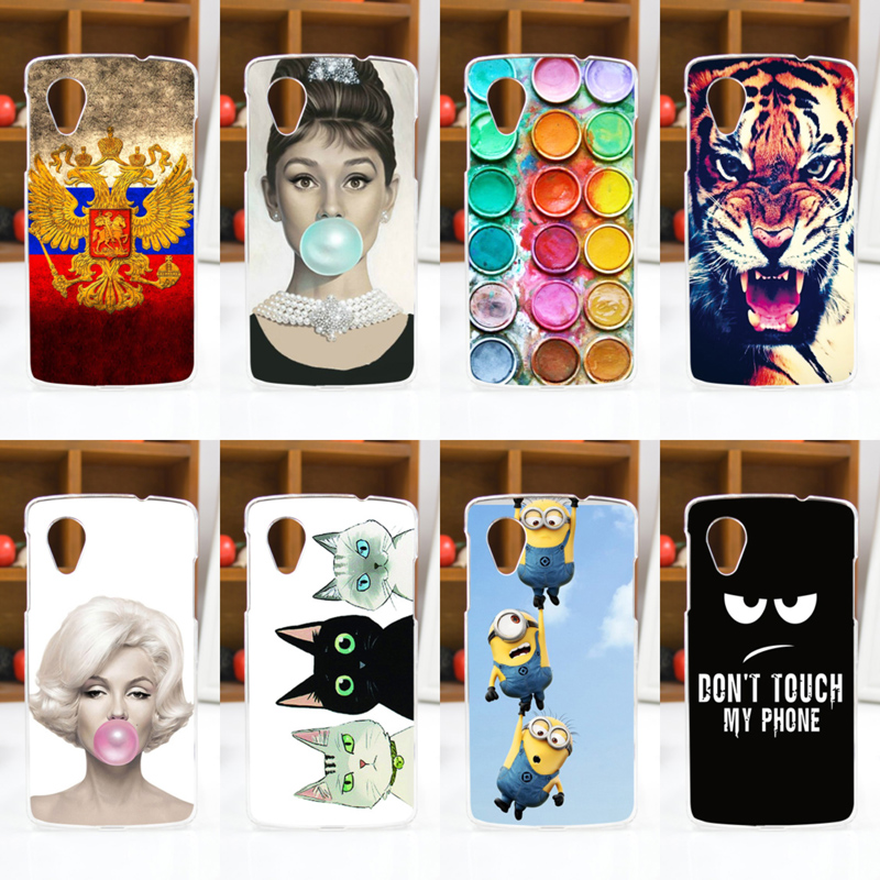 10 Patterns Hard Skin Painting Case FOR LG Google Nexus 5 E980 D820 D821 free shipping
