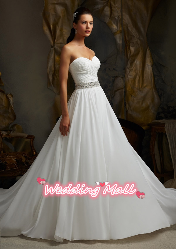 Plus size wedding dress 2015 hot sale custom made for Cheap wedding dresses sale