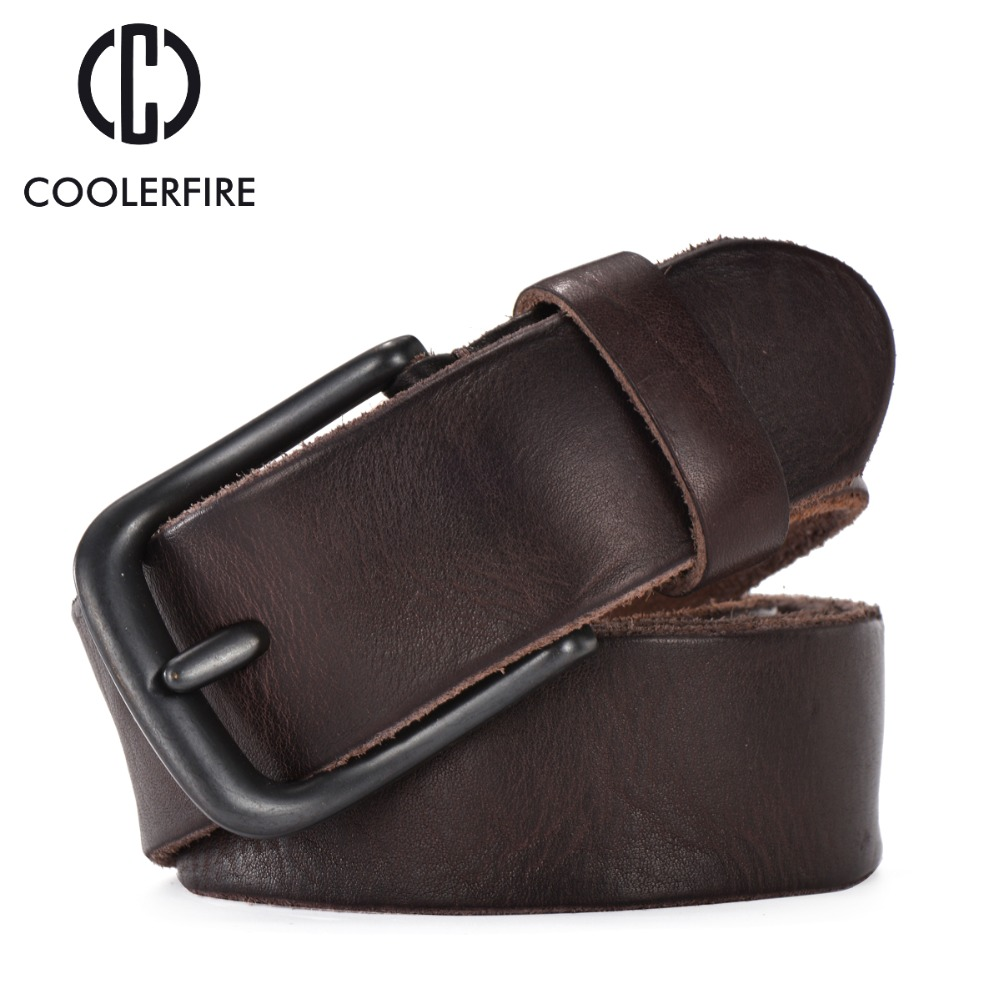 Rugged full grain leather belt man casual vintage belts men genuine vegetable tanned cowhide original strap male girdle TM007(China (Mainland))