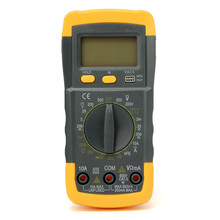 Buy Durable LCD Digital Multimeter AC/DC Ohmmeter Voltmeter Ammeter Capacitance OHM Tester A830L New for $6.15 in AliExpress store
