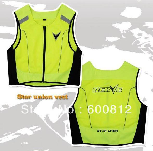 Мото куртка нерва качество одежды мотоодежда светоотражающую одежду видимость жилет мотоцикл куртки