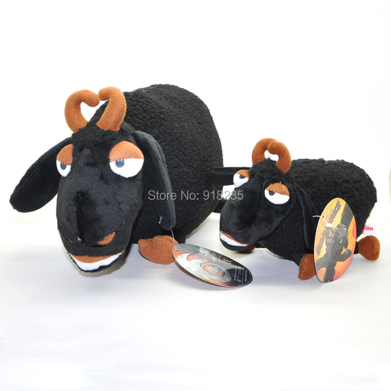 "Free Shipping How To Train Your Dragon 2 Black SHEEP 12"" Plush Figure Doll Toy #2(China (Mainland))"