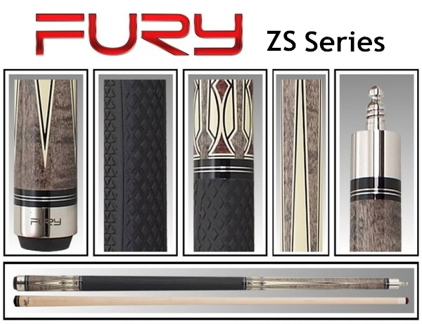 FURY ZS-01 american pool cue cue tips 11.75mm handmade maple snooker billiards pool billiards stick taco free shipping(China (Mainland))