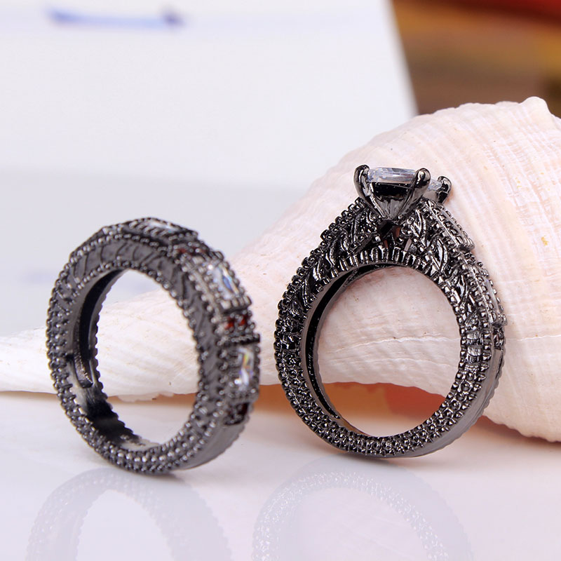 com buy cheap black ring 2016 women wedding rings jewelry wholesale
