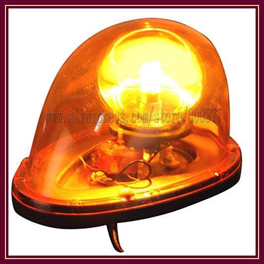 (TBD-GA-D212) Amber Rotator light Beacon for enginer car, Magnetic Install, waterproof, DC12/24VV, PC lens, Bright Warning light
