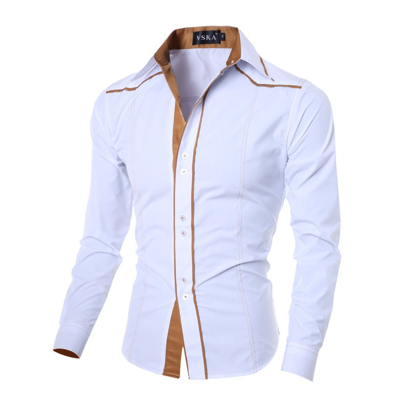Shirt dress plus size picture more detailed picture for Mens designer casual shirts sale