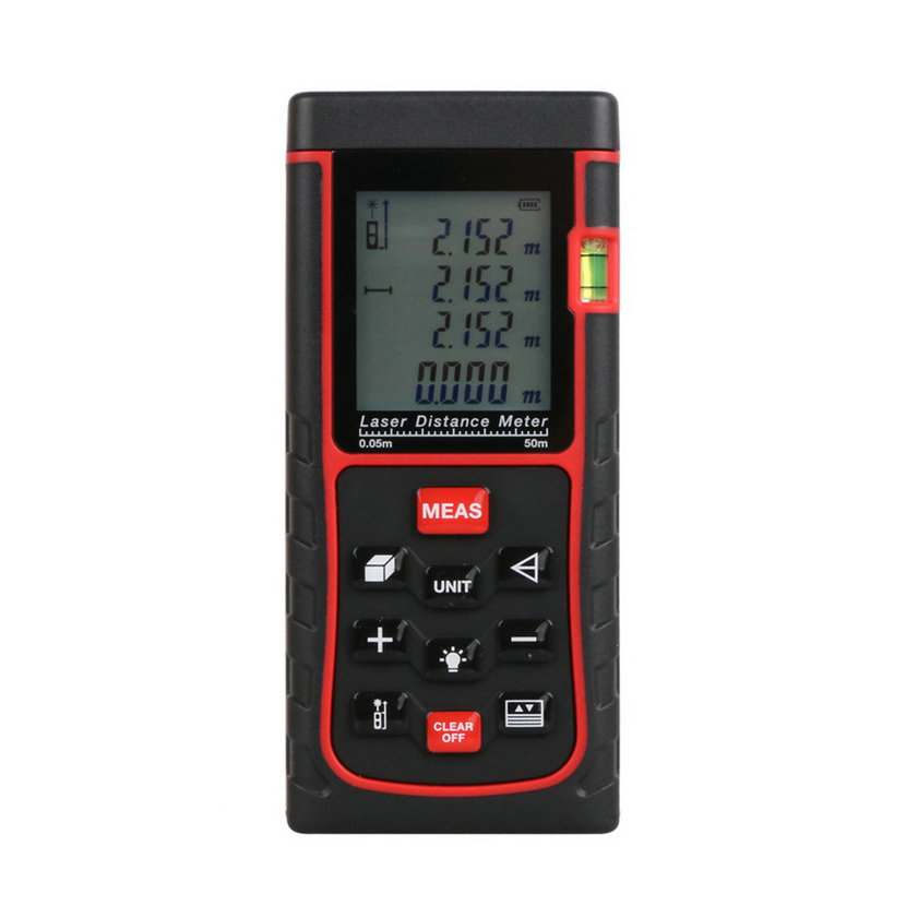 Гаджет  50M Mini Digital Handheld Laser Distance Meter Range Finder Measure Diastimeter Drop Shipping None Инструменты