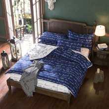 cotton/polyester microfiber Duvet Cover Set 1pc Duvet Cover 1pc Bed Sheet Set 2pcs Pillowcase Twin Size Bedding Set(China)