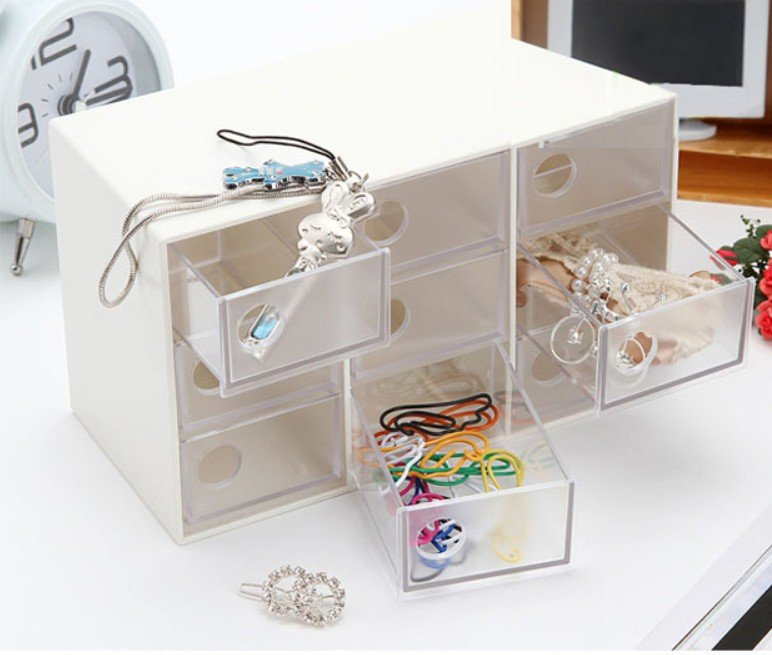 Jewellery Packaging And Bead Storage With: 2pcs/lot Storage Drawer Beads Display Storage, Jewelry