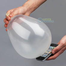 Close-Up Magic Street Trick Moblie Into Balloon Penetration In A Flash Party Props(China (Mainland))