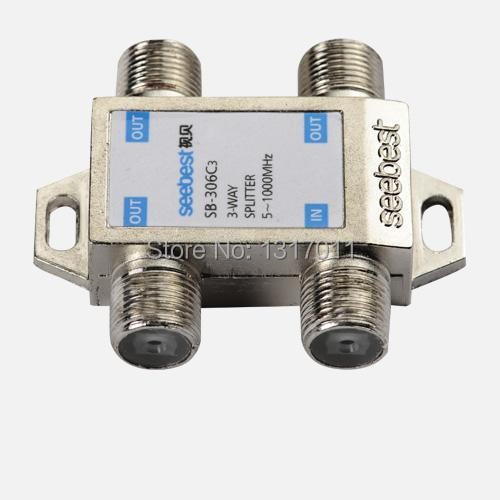 Seebest SB-306C3 Outdoor splitter&tap off 3 way CATV tap-off and splitter(C series) CATV direcitional coupler(China (Mainland))