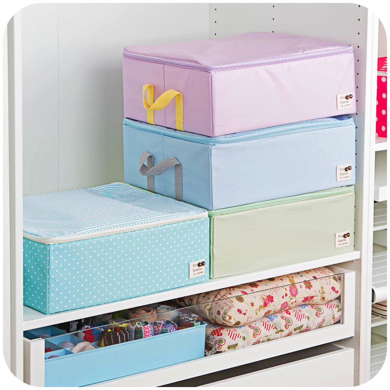 Home home sewing clothes storage box storage box drawer type closet cover storage box box under the bed clothes(China (Mainland))