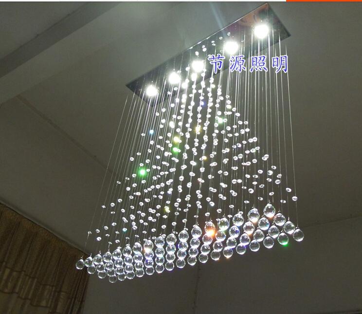 .com: Acheter 100 CM moderne lustre plafond lampe déclairage LED ...