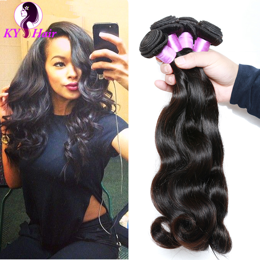Peruvian Virgin Hair 3 Bundles Peruvian Body Wave High Quality Human Hair Extensions Hot Selling Sexy Formula Hair Free Shipping<br><br>Aliexpress