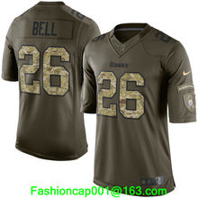 2016 men's High Quality Pittsburgh hot sales 1 Steeler hot sales 1 free Shipping all player,camouflage(China (Mainland))
