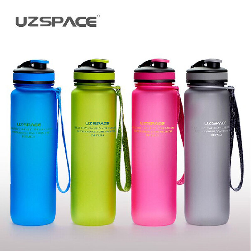 My Bootle 1000ml Scrub mlfashion Frozem portable space Cup resistant sports nutrition custom shaker bottle free shipping(China (Mainland))