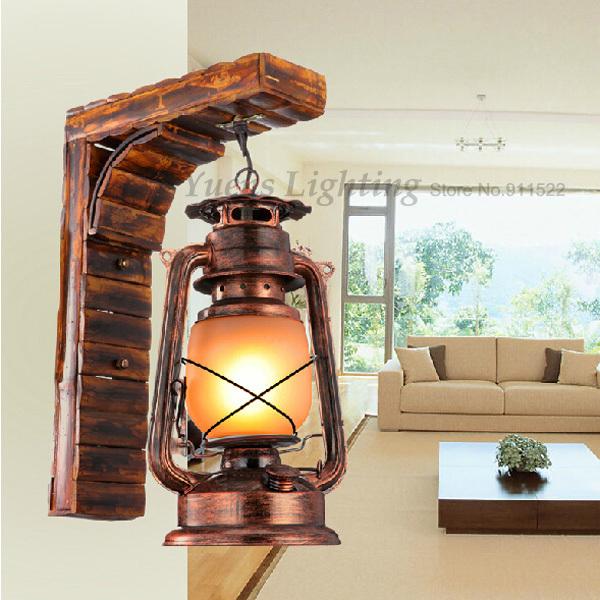 Online kopen wholesale wall lamp kerosene light lamps uit for Nostalgische lampen