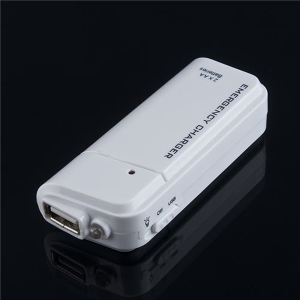 1pc Brand New Portable USB Charger AA External Battery Emergency For MP3 Player for iPod for iPhone(China (Mainland))