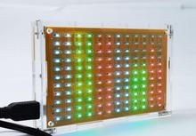 LED display production suite music spectrum LED flash electronic DIY production bulk, 12 * 11 FFT(China (Mainland))