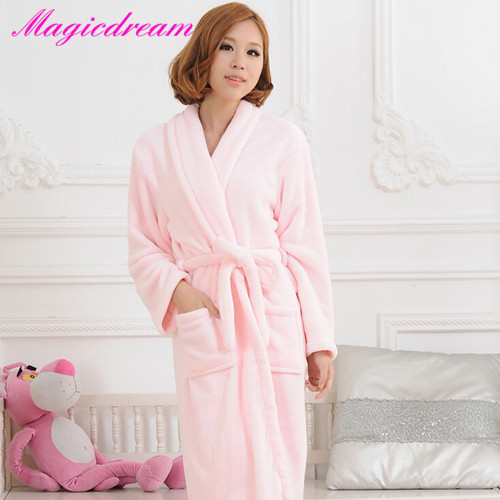 Women's long robes on sale