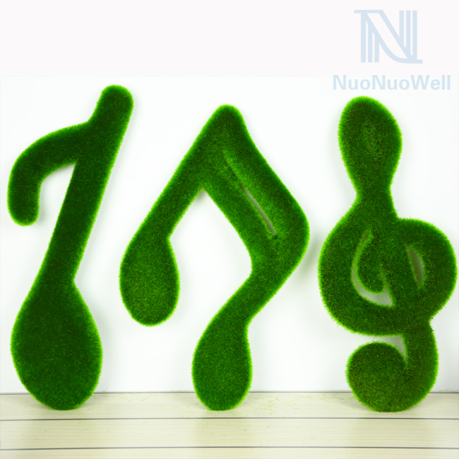 Home Desktop Christmas Idea Gift Decor Turf Music Notes 3 Kinds Avilable(China (Mainland))