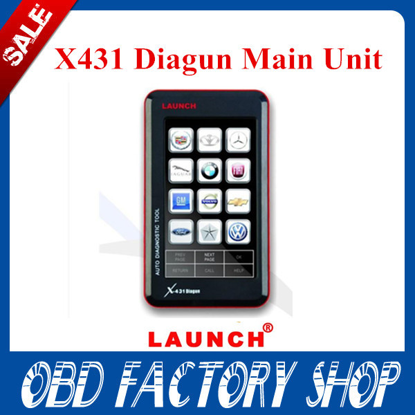 DHL free shipping! Promotion 2015.4 Newest version Launch x431 Diagun Main unit Launch x431 Diagun PDA with battery(China (Mainland))
