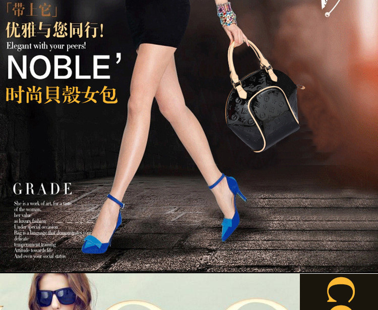 Designer Handbags High Quality Emboss Women Messenger Bags Vintage