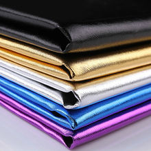 Faux Leather Fabrics PVC Glitter wallpaper for Decorative PU Artificial Metal Leather for sewing Material Leather Skin Wholesale(China (Mainland))