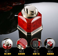 FOURFOLD BUTANE TORCH LIGHTER WITH BOTTLE SHAPE RED COLOR FOR CIGAR
