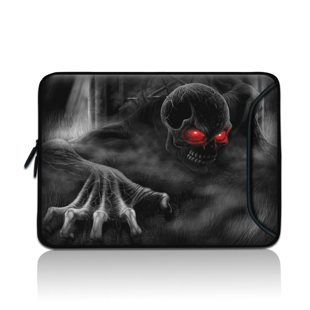 6.7'' 7'' 8'' Tablet PC Netbook Bag Case Cover for Apple Sumsung ASUS Acer Skull Hard quality Soft Vivid(China (Mainland))