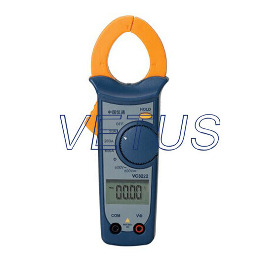 Clamp Meter VC3222 Clamp Digital Phase Volt-Ampere Meter with CPU<br><br>Aliexpress