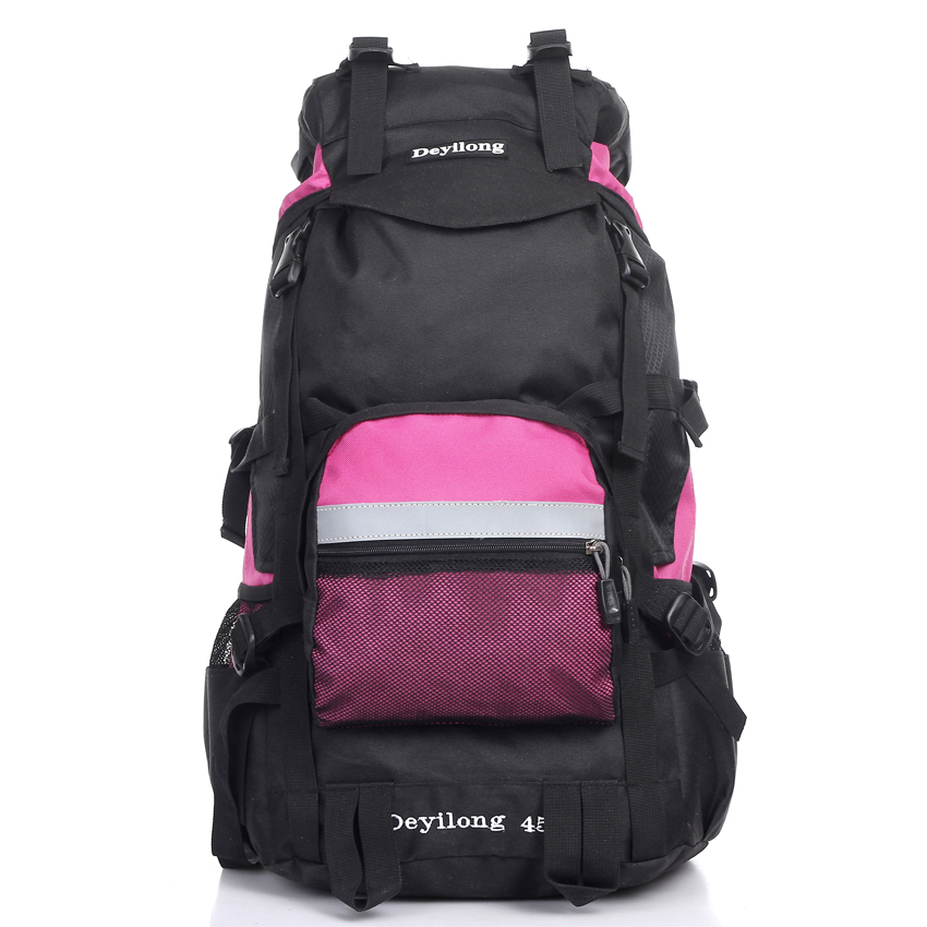 Mountaineering bag Women travel 45l men's backpack outdoor hiking large capacity ride
