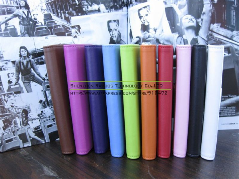 1 Piece Genuine Wallet Leather Cover Case for iPhone 5 5s 5G, Stand Flip Book Style Cover with Card Holder Free Shipping(China (Mainland))