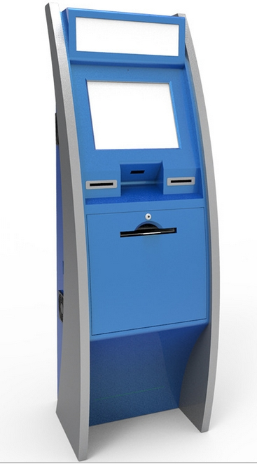 dualscreen touch kiosk with barcode, card reader, EPP, thermal printer and cash acceptor terminal kiosk LCD Modules(China (Mainland))