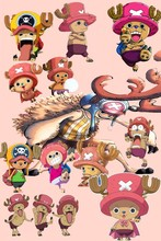 Chopper—2016 Hot sale Japanese Anime Home Decor Scroll Paintings Art Canvas Wall Picture